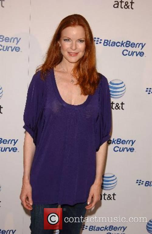 Marcia Cross Launch Party for The New BlackBerry...
