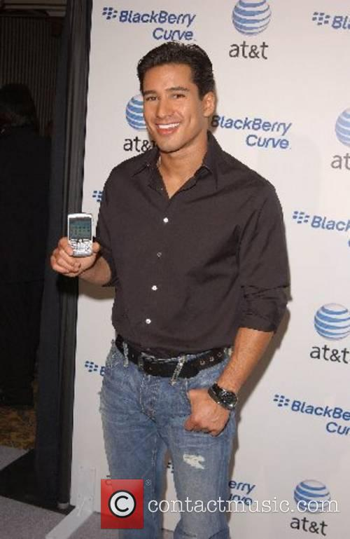 Mario Lopez Launch Party for The New BlackBerry...