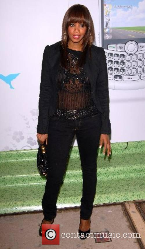 Shaznay Lewis BlackBerry Summer Party held at the...