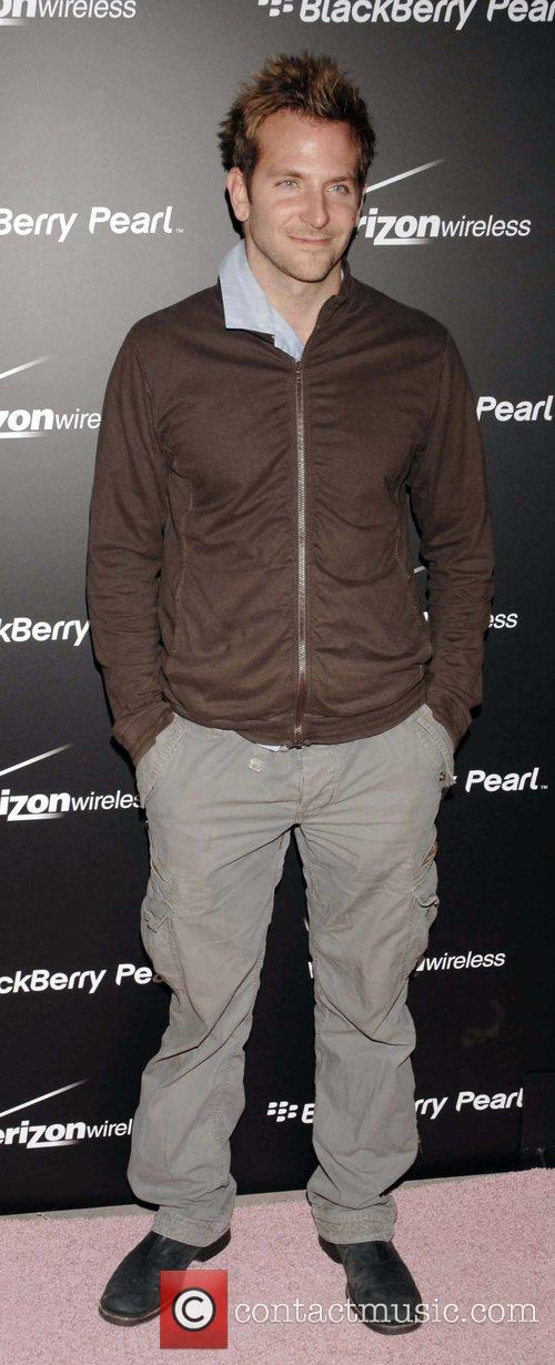Bradley Cooper Launch Party for the new Blackberry...