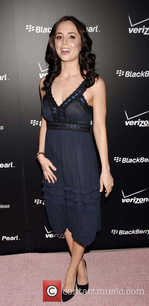 Eliza Dushku Launch Party for the new Blackberry...