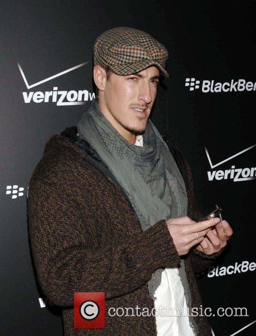 Eric Balfour Launch Party for the new Blackberry...