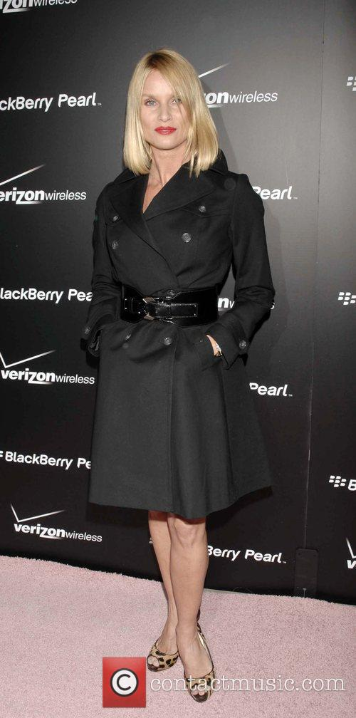 Nicolette Sheridan Launch Party for the new Blackberry...