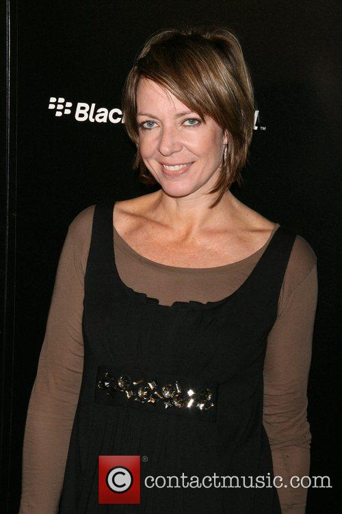 Allison Janney Launch party for the new Blackberry...