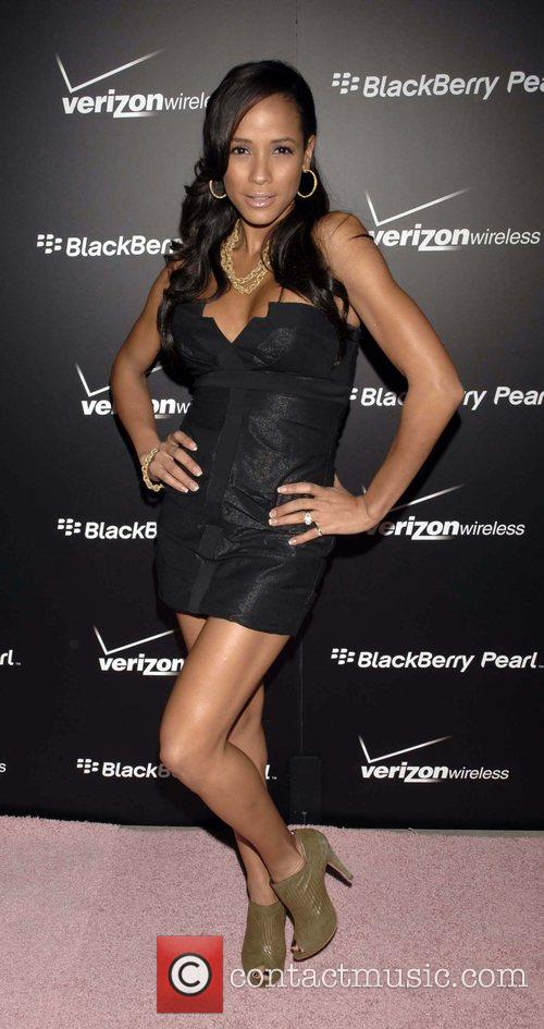 Dania Ramirez Launch Party for the new Blackberry...