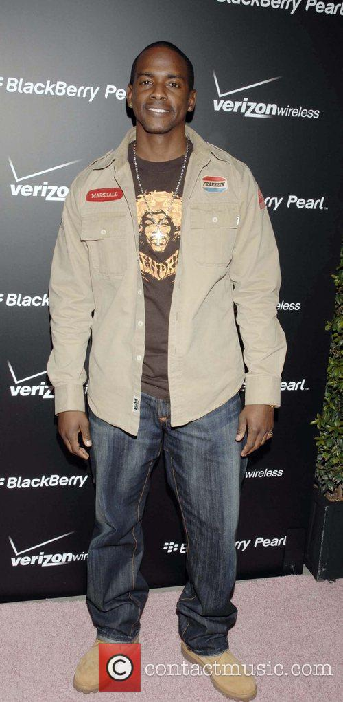 Keith Robinson Launch Party for the new Blackberry...