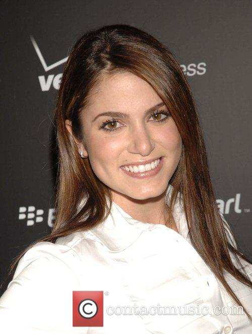 Nikki Reed Launch Party for the new Blackberry...