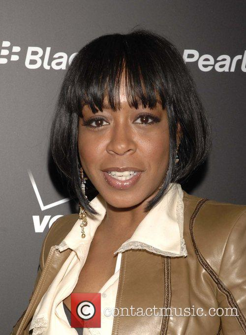 Tichina Arnold Launch Party for the new Blackberry...