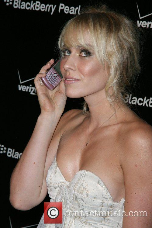 Natasha Bedingfield Launch party for the new Blackberry...