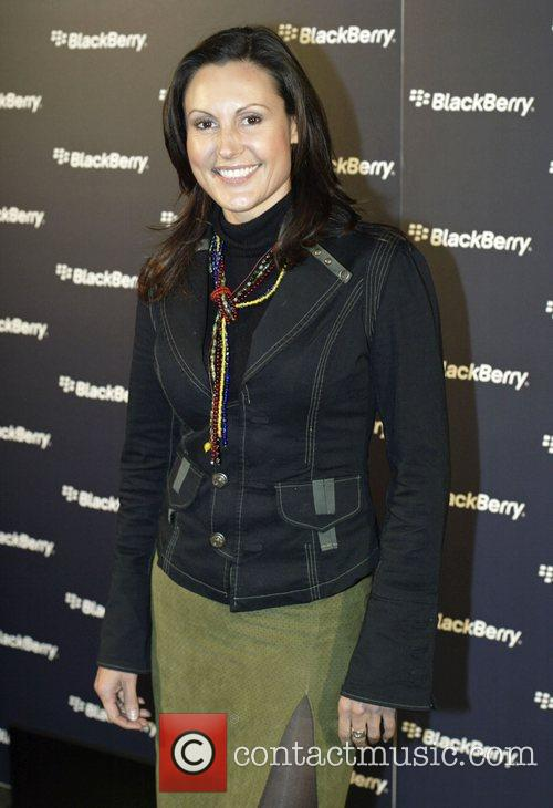 Launch of the Blackberry Curve mobile phone at...