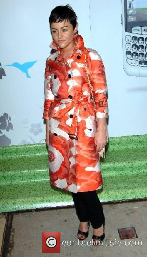 Jaime Winstone BlackBerry Summer Party held at the...