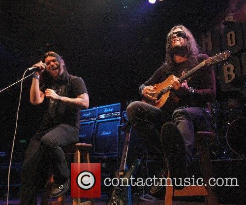 Brent Smith and Jason Todd (Shinedown) Dimebag Darrell's...