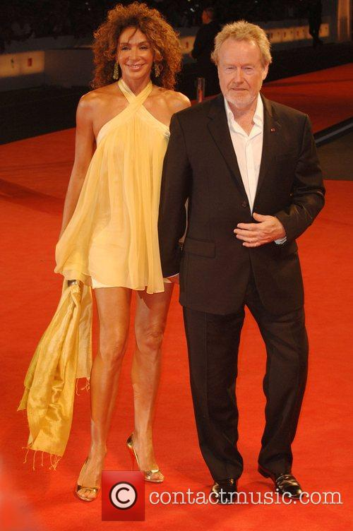 Ridley Scott and guest 64th Venice Film Festival...