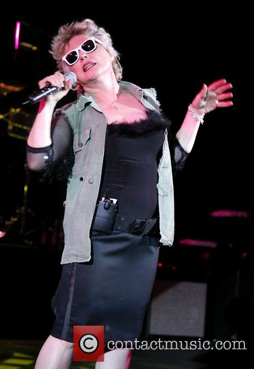 Debbie Harry of Blondie, Hammersmith Apollo