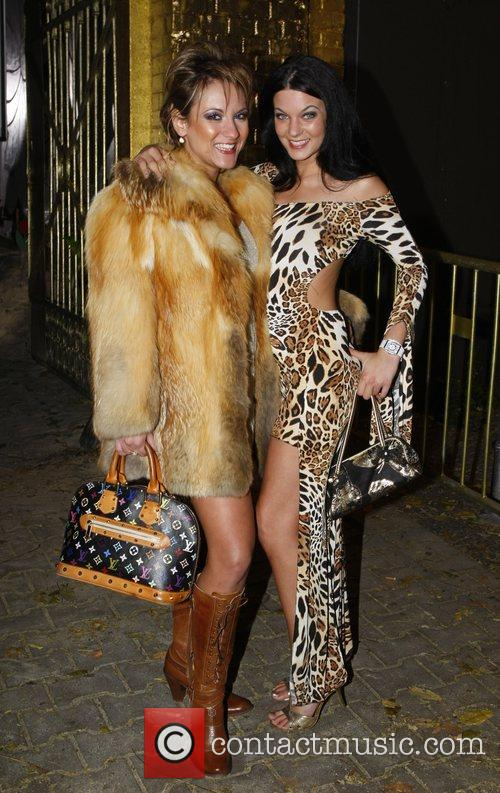 Jana Bach, Leonie  attend a party at...