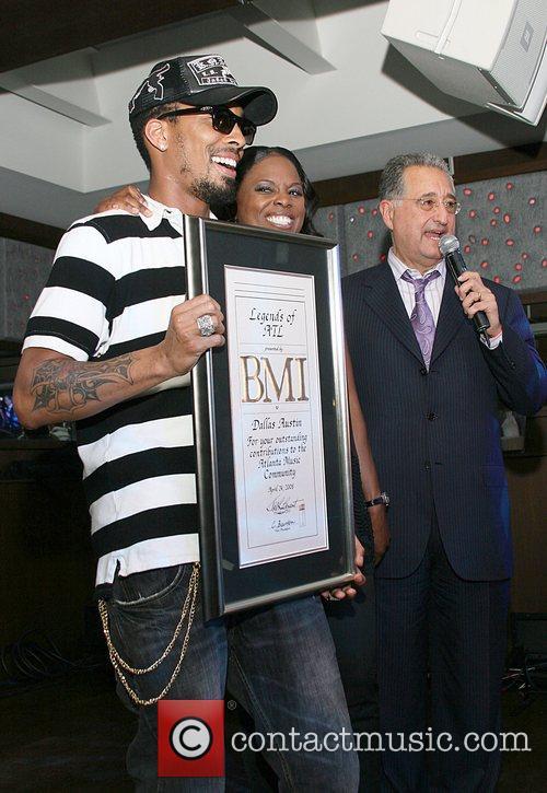 Producer Dallas Austin, BMI V.P. Catherine Brewton, BMI...