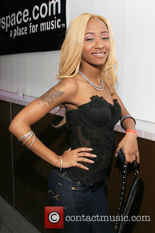 Rapper Diamond from Rap Group Crime Mob U.S....