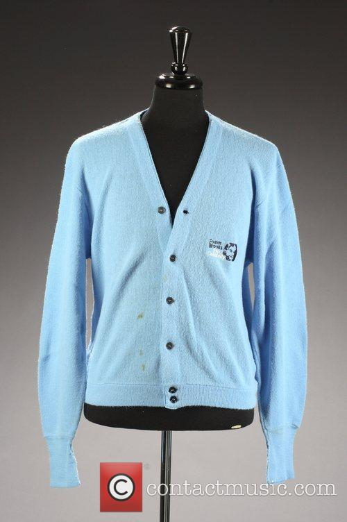 Bob Hope's cardigan sweater.  * LATE HOPE'S...