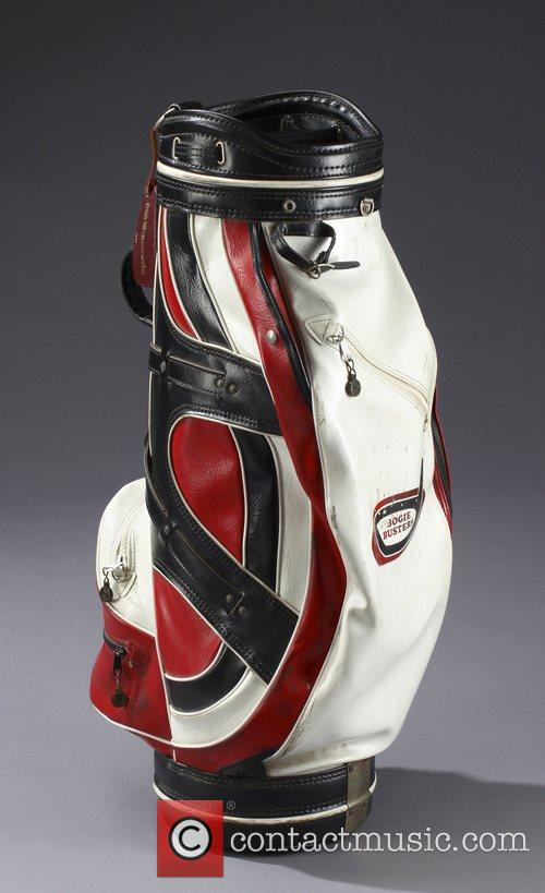 Bob Hope's Vinyl golf bag.  * LATE...