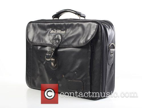 Bob Hope's Black leather carrying case.  *...