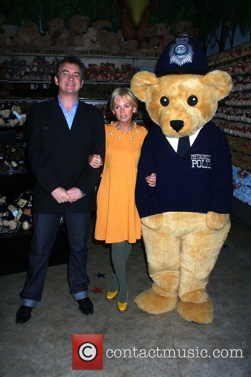 Shane Richie and Lisa Maxwell Bobby Bear Launch...