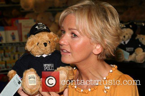 Lisa Maxwell Bobby Bear Launch at Hamleys in...