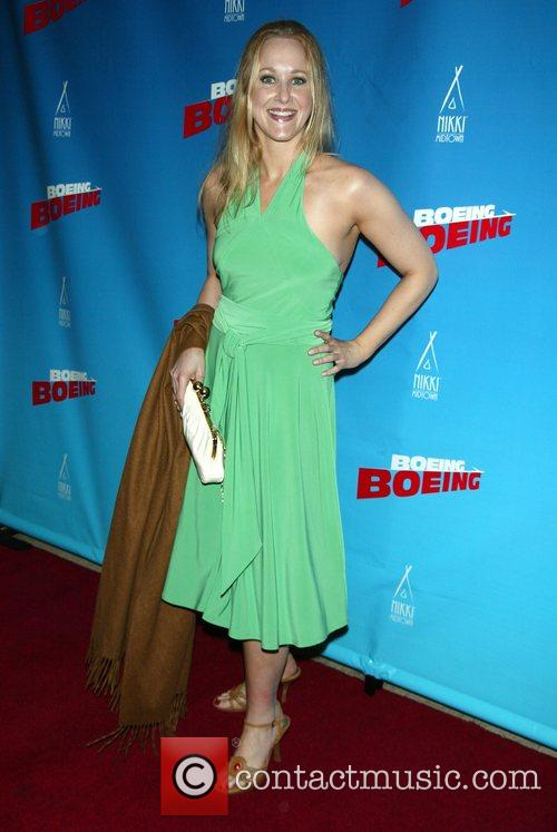 Opening Night of Boeing-Boeing at the Longacre Theatre.