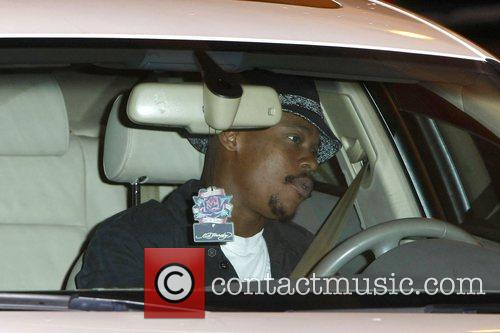 Saving Grace co-star Bokeem Woodbine out and about...