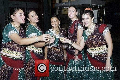 Indian Dancers Toast 3