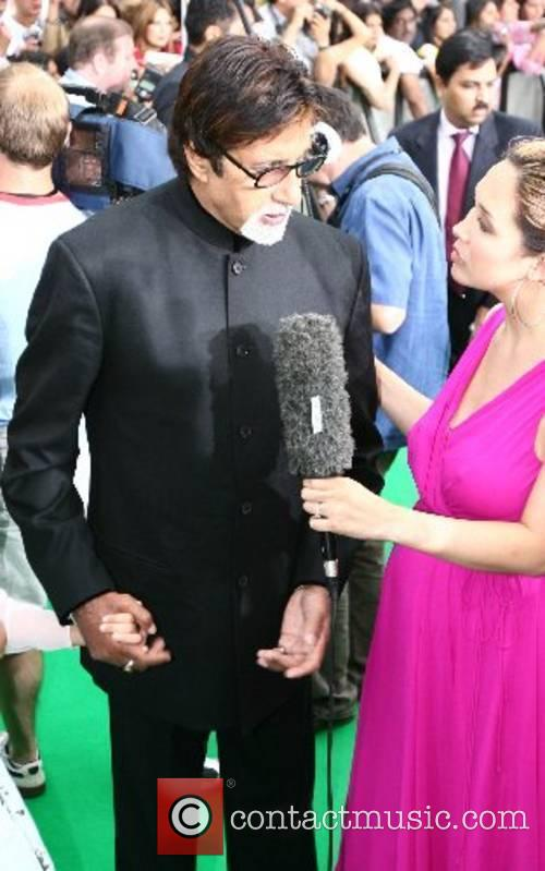 Amitabh Bachchan and Myleene Klass IIFA Bollywood Awards...