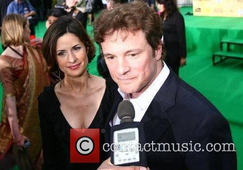 Colin Firth and guest IIFA Bollywood Awards at...