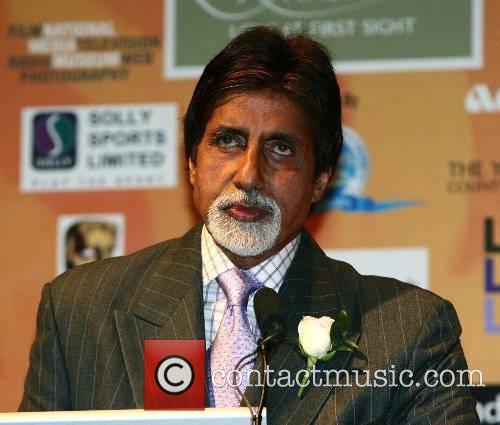 At the Bollywood awards press conference at Leeds...