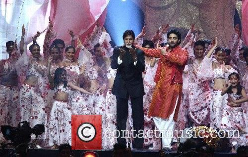 Amitabh Bachchan, Abhishek Bachchan Indian International Film Awards...