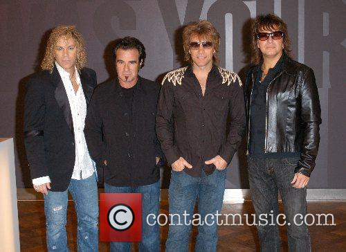 Bon Jovi at The O² Arena - Photocall