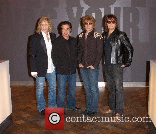 David Bryan, Tico Torres, Jon Bon Jovi and...