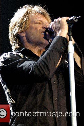 Jon Bon Jovi Bon Jovi performing live in...