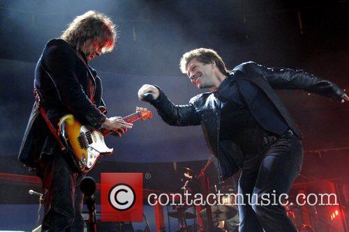 Richie Sambora, Bon Jovi and Jon Bon Jovi 4