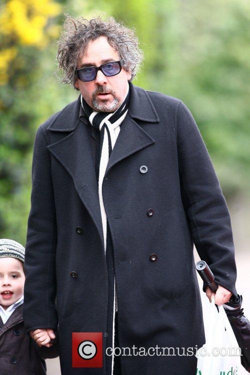 Tim Burton and Helena Bonham Carter 3
