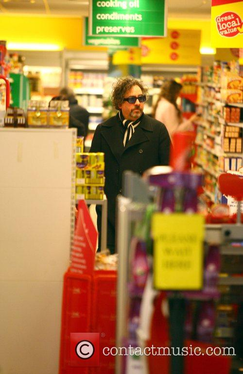 Tim Burton and Helena Bonham Carter 2