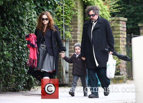 Tim Burton and Helena Bonham Carter 6
