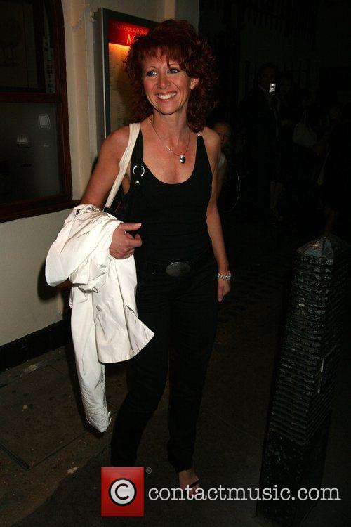 Bonnie Langford Grease Gala night hosted by the...