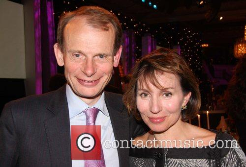 Andrew Marr and Guest Galaxy British Book Awards...