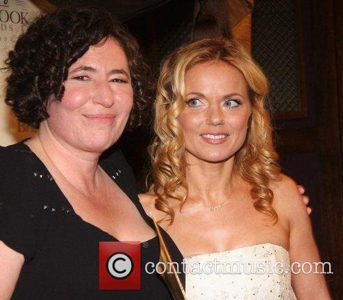 Guest and Geri Halliwell Galaxy British Book Awards...