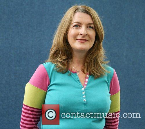 Janice Galloway attends the Edinburgh Book Festival to...