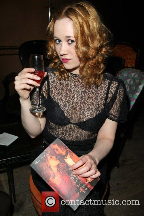 Christiana Spens at her party to launch 'The...
