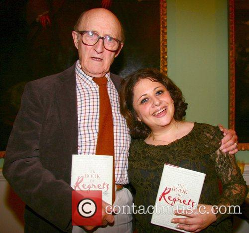 At the book launch party of 'The Book...