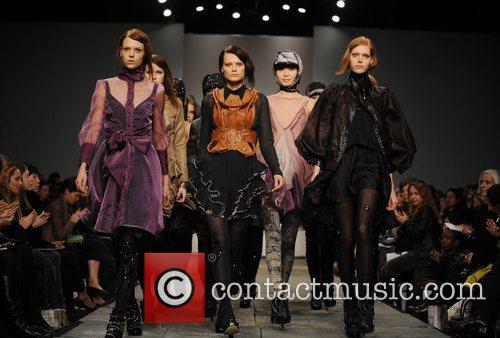 Models London Fashion Week Autumn/Winter 2008 - Bora...
