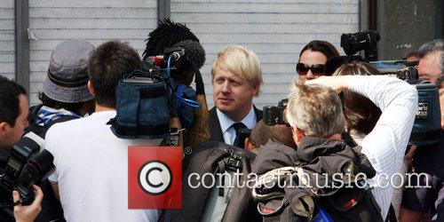 Mayor of London, Boris Johnson visits Brixton to...
