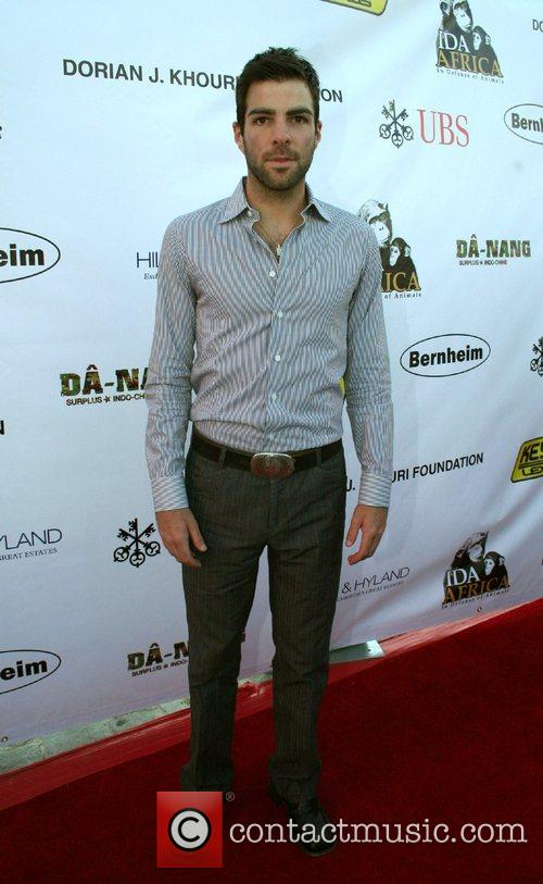Zachary Quinto Born to be Wild, a benefit...