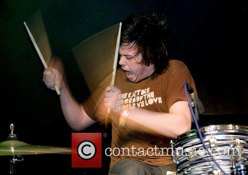 Go Faster performing at Liverpool Barfly for the...